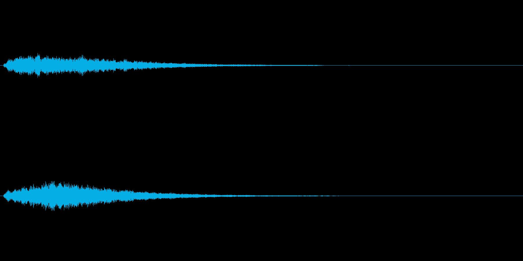 きらめく感じの ロード システムSEの再生済みの波形