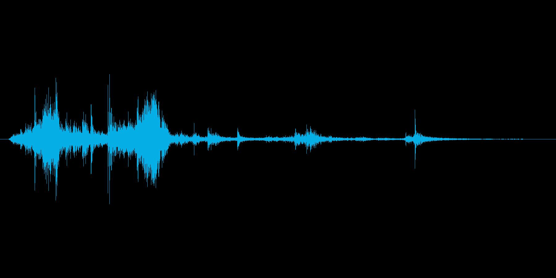 ガシャガシャの再生済みの波形