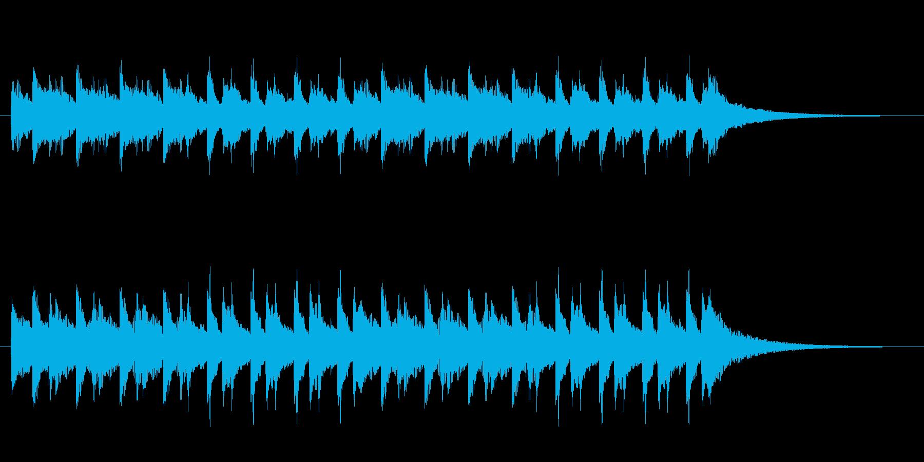 CMや映像に、ハッピーなウクレレ15秒の再生済みの波形