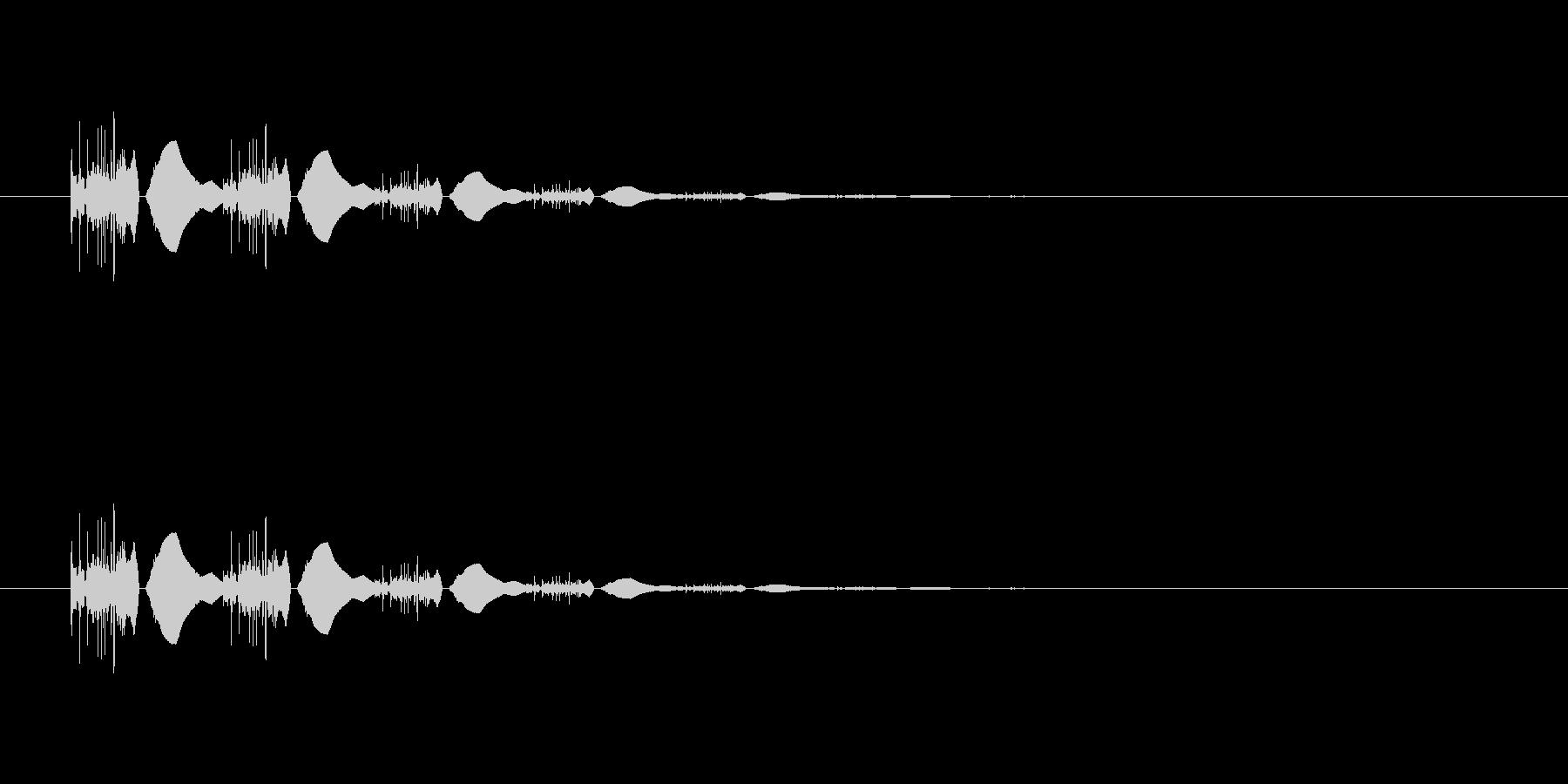 【ポップモーション36-3】の未再生の波形