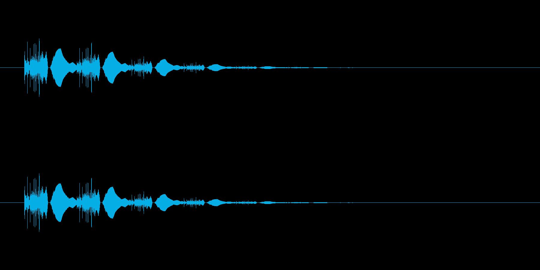 【ポップモーション36-3】の再生済みの波形