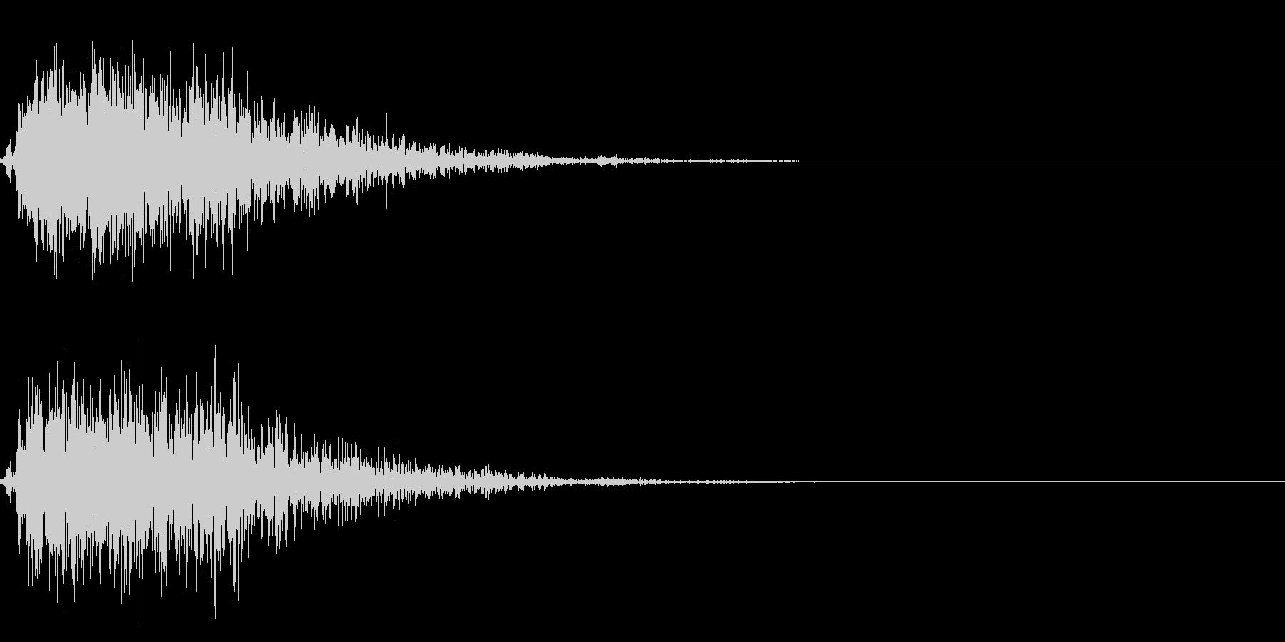 ストライク!ボーリングの効果音 01の未再生の波形