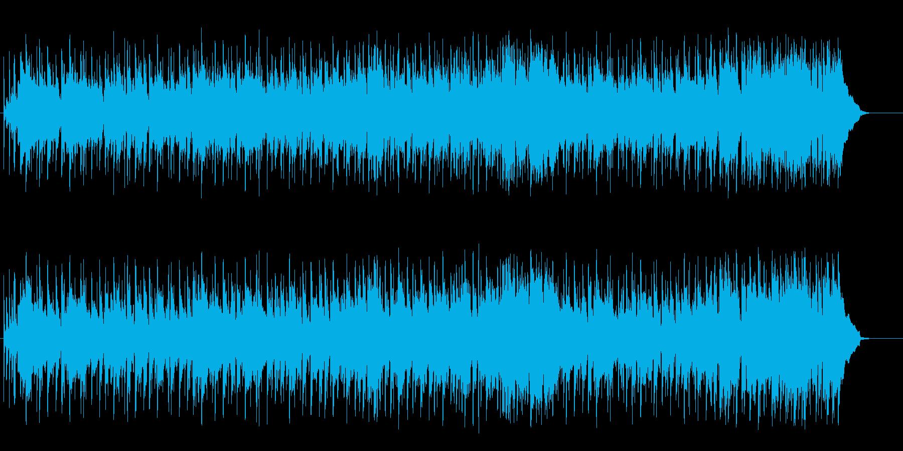 爽やかなイージーリスニングポップスの再生済みの波形