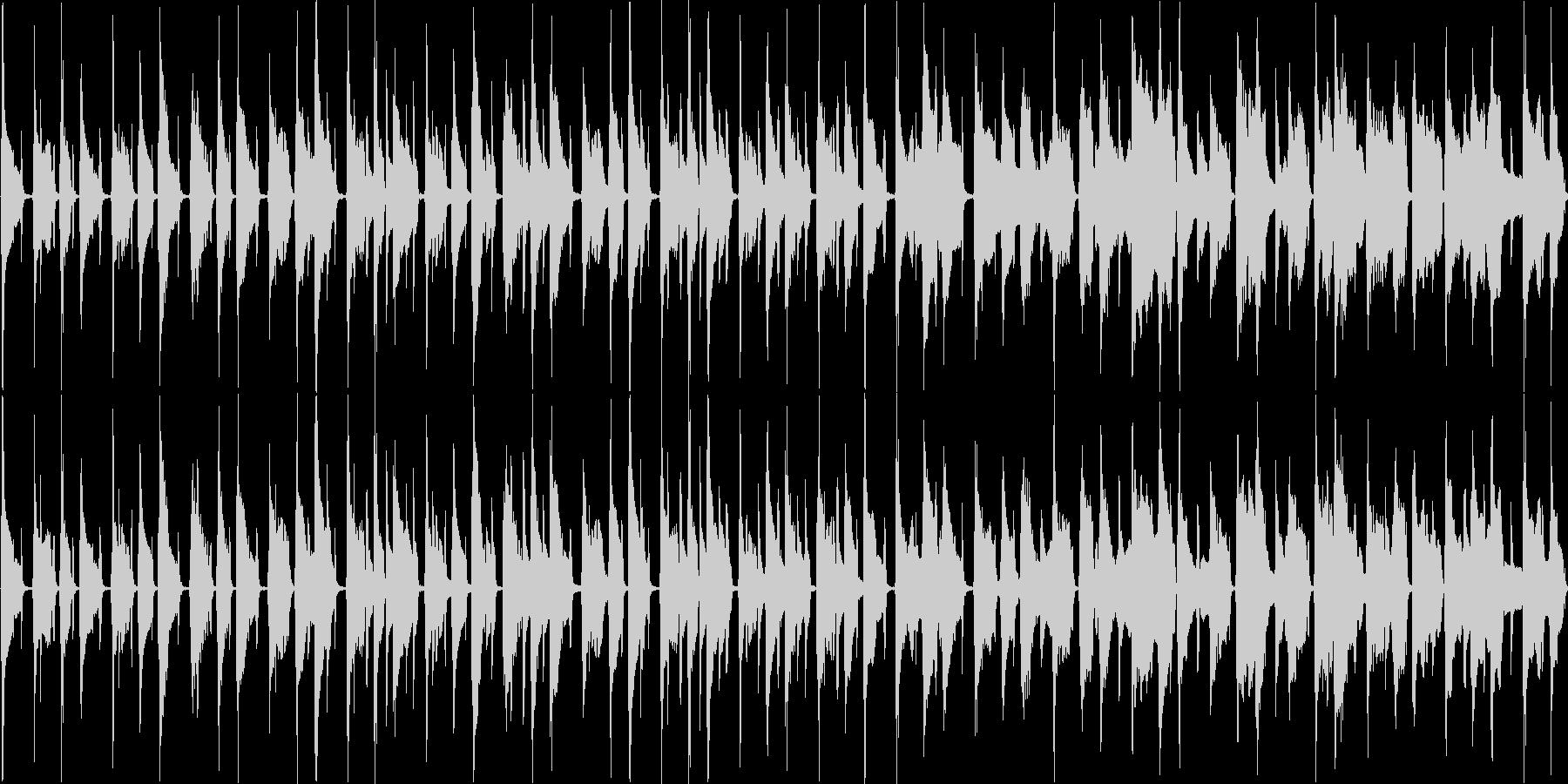 【ループ】ウクレレとリコーダーののんびりの未再生の波形
