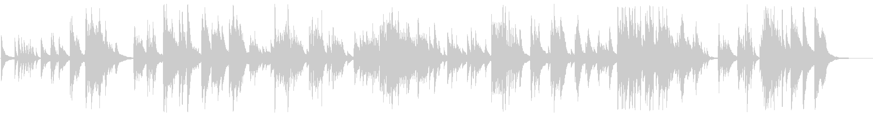 感動的な大人のジャズピアノBGMの未再生の波形
