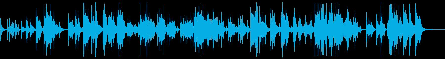 感動的な大人のジャズピアノBGMの再生済みの波形