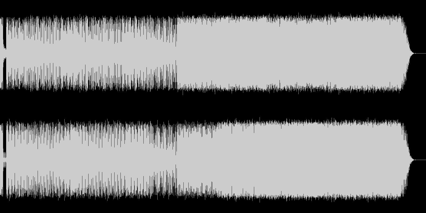 ボサ・ノヴァ/サンバ・ベースの無国籍な…の未再生の波形