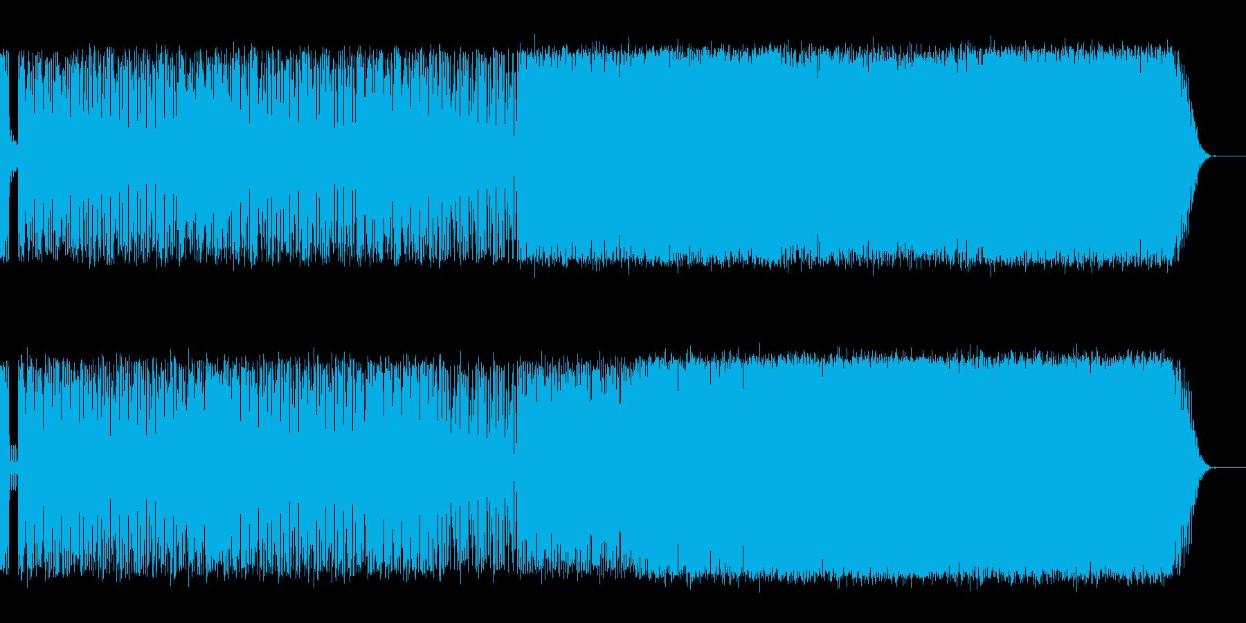 ボサ・ノヴァ/サンバ・ベースの無国籍な…の再生済みの波形
