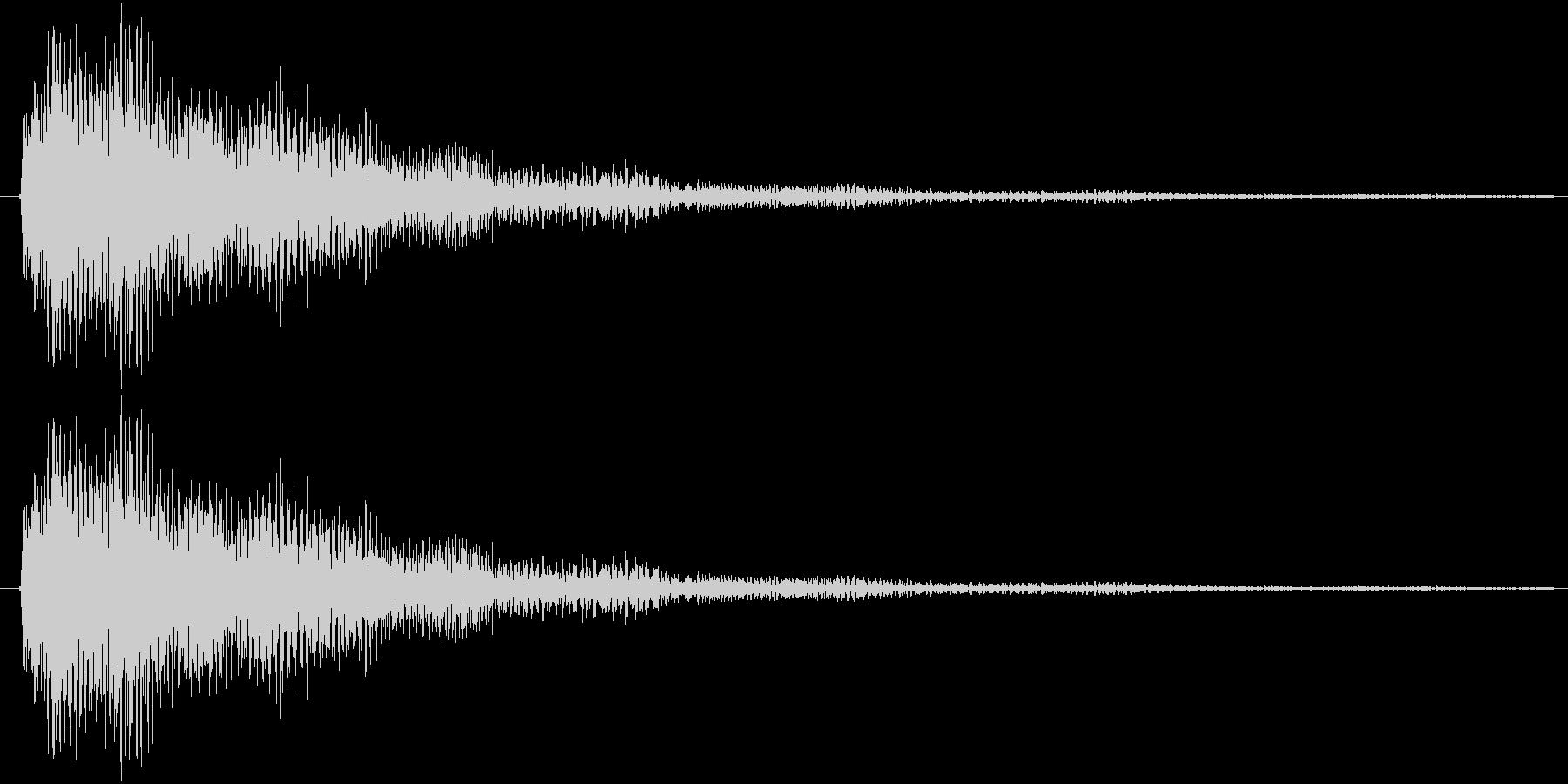 テローン(ロゴ)の未再生の波形