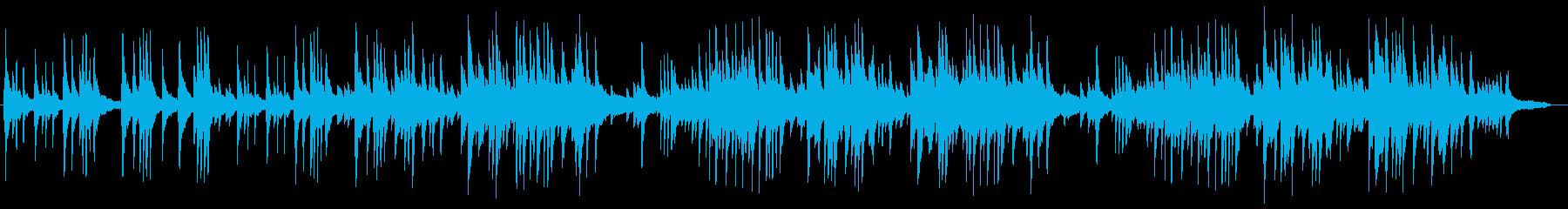 切ないピアノサウンドの再生済みの波形
