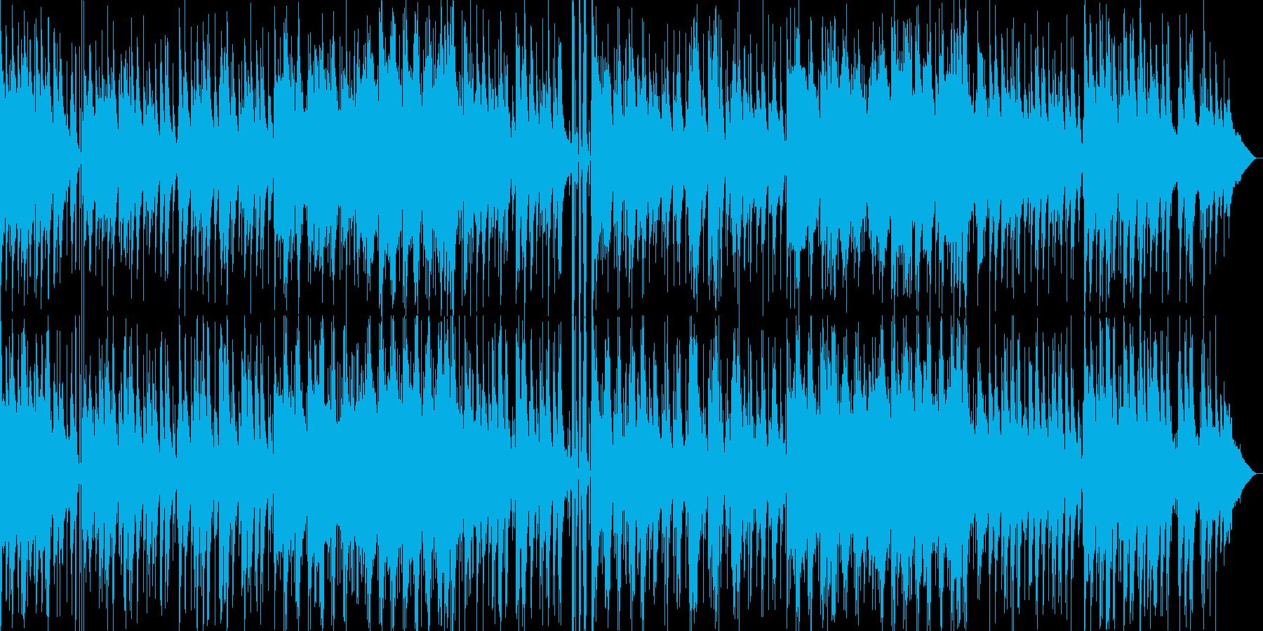 ロマンティックジャズの再生済みの波形