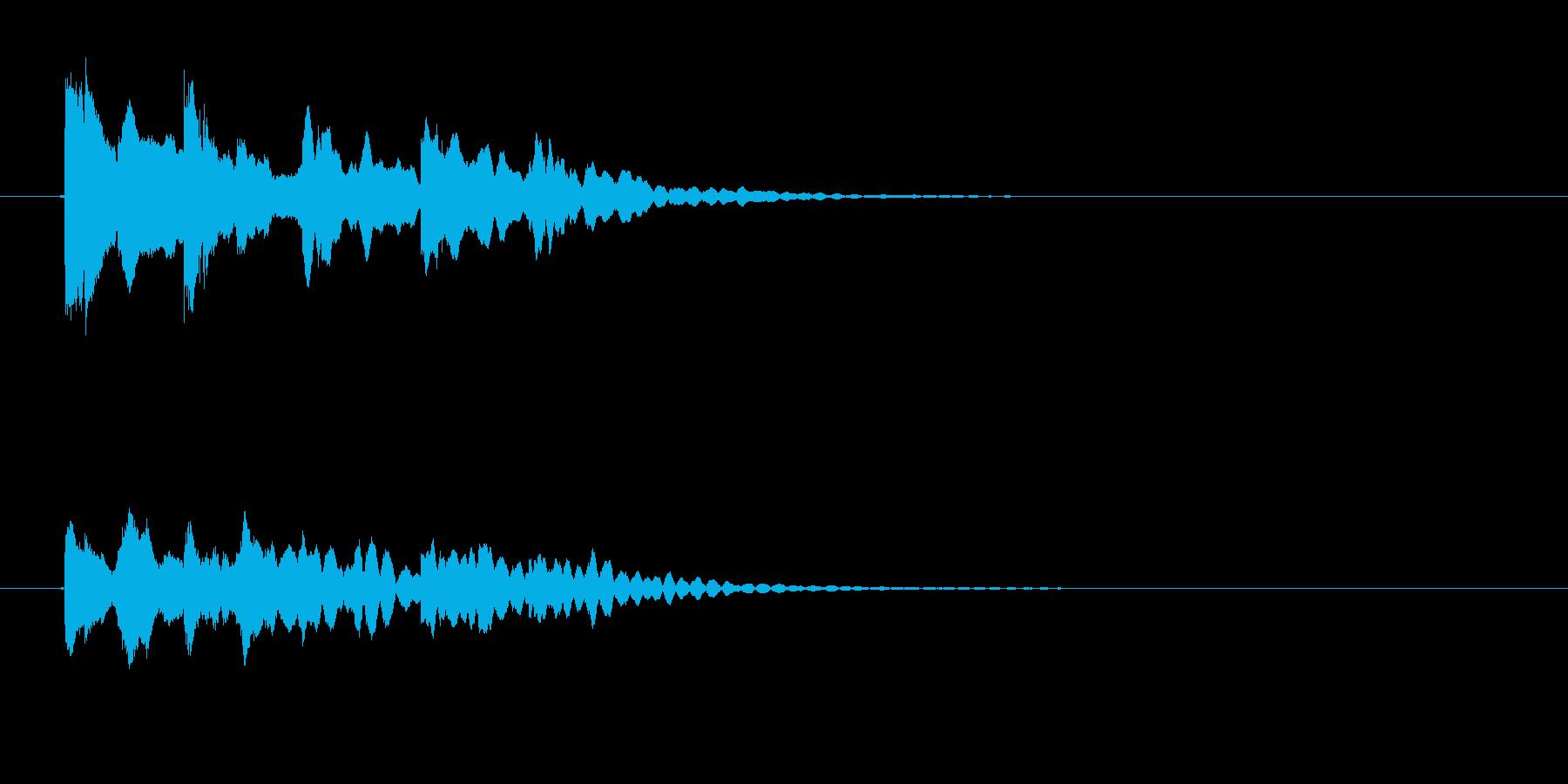 ハズレ 考える の再生済みの波形
