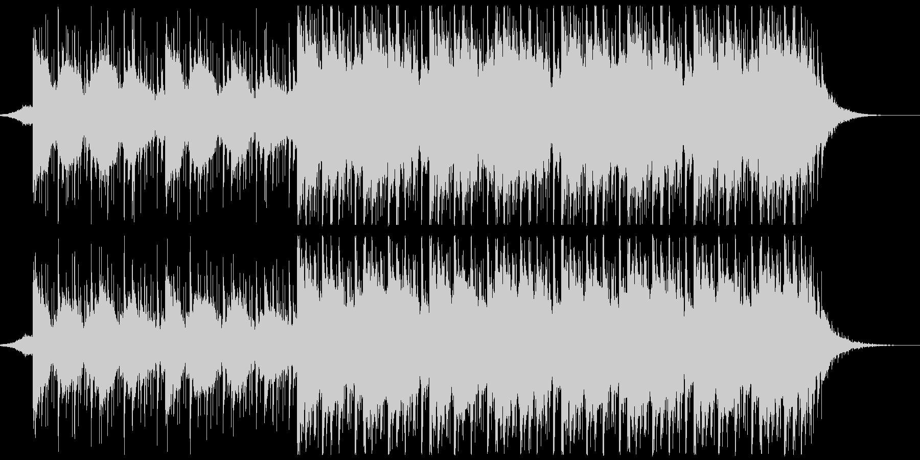 躍動感,オシャレCM、ショートバージョンの未再生の波形