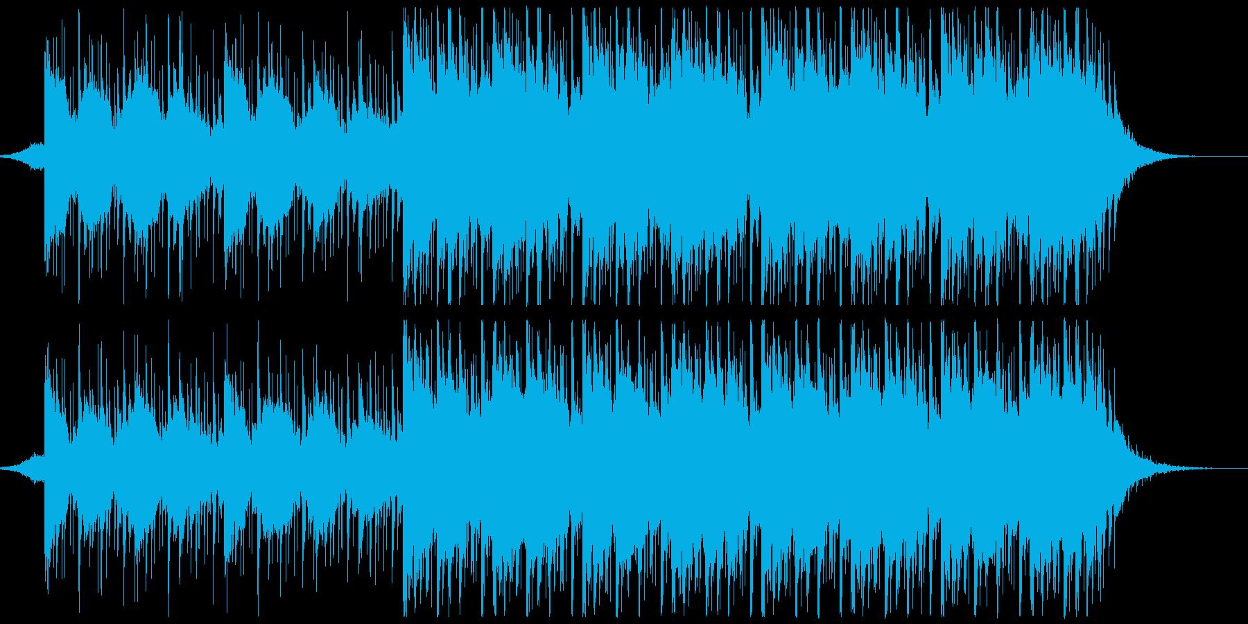 躍動感,オシャレCM、ショートバージョンの再生済みの波形