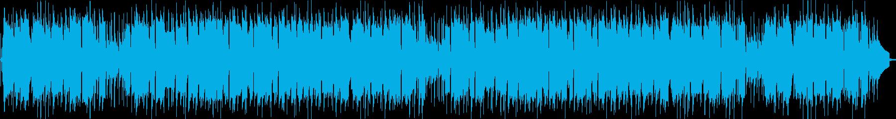 フルートがメロディをとっているほのぼの…の再生済みの波形