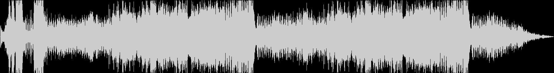 カートゥーン調のコミカルなオーケストラの未再生の波形
