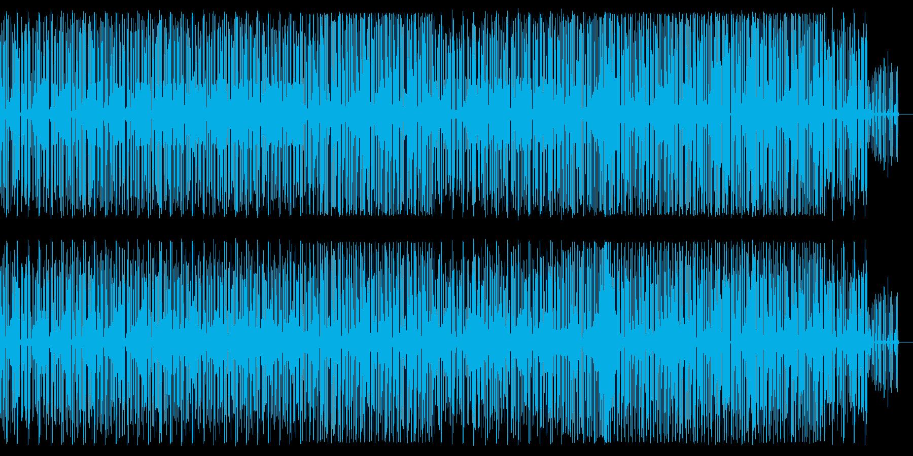 はじける、はずむ、ミニマルでポップ。の再生済みの波形