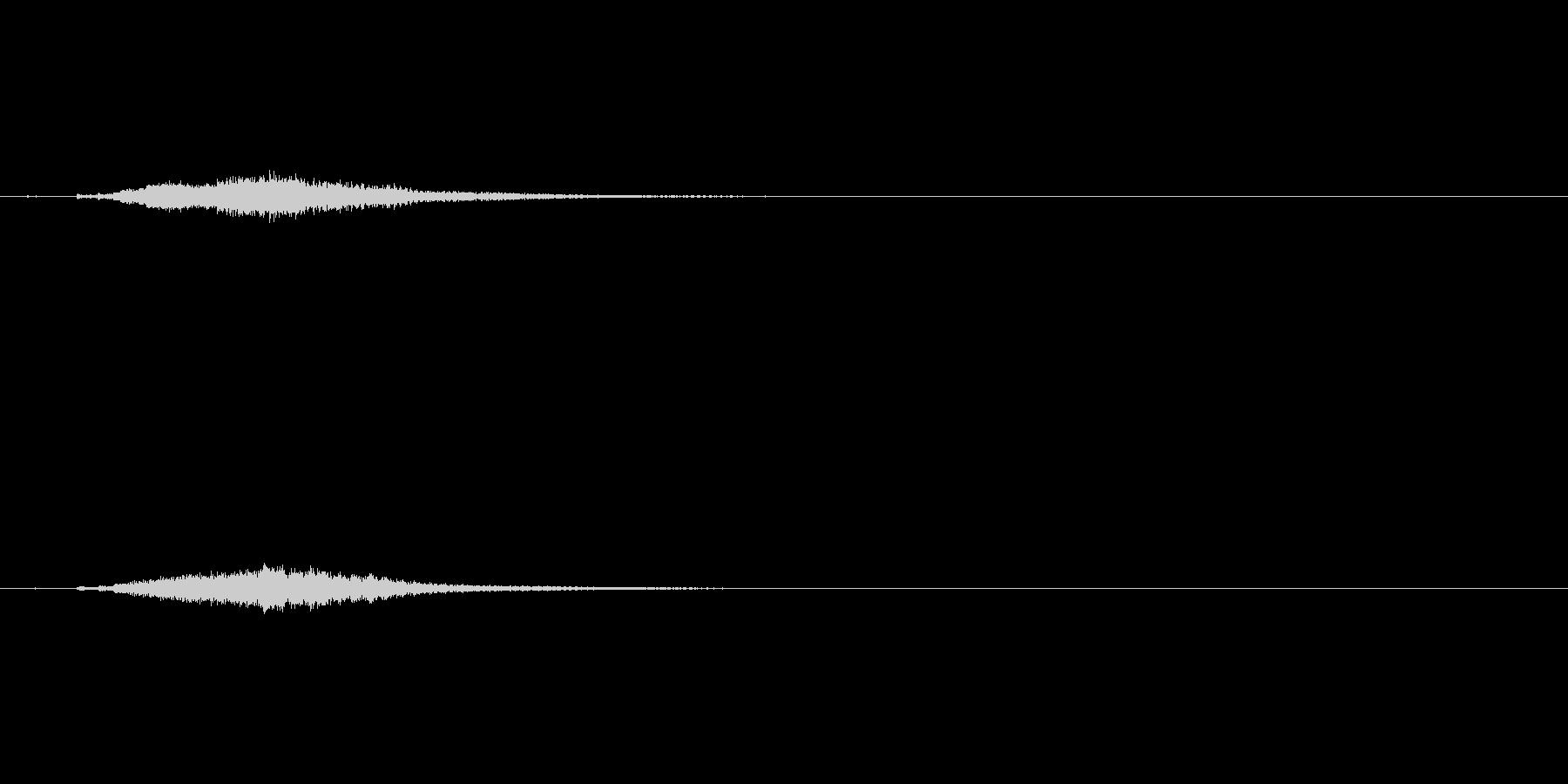 キラリーンbの未再生の波形