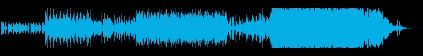 ダンスエクササイズの再生済みの波形