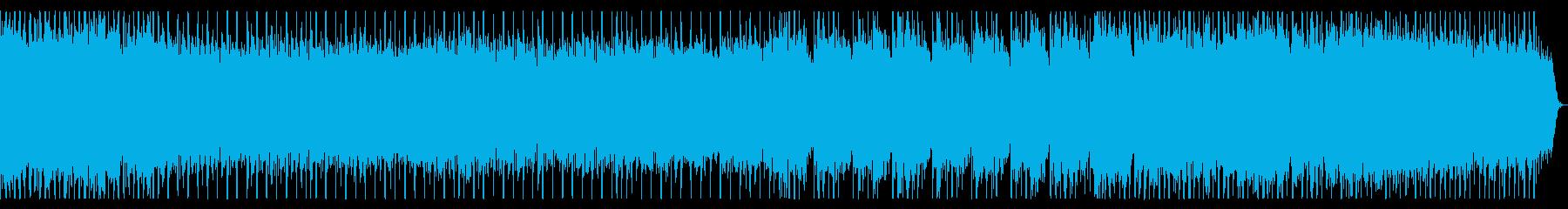 ポップでファンタジー 軽快なメタルBGMの再生済みの波形