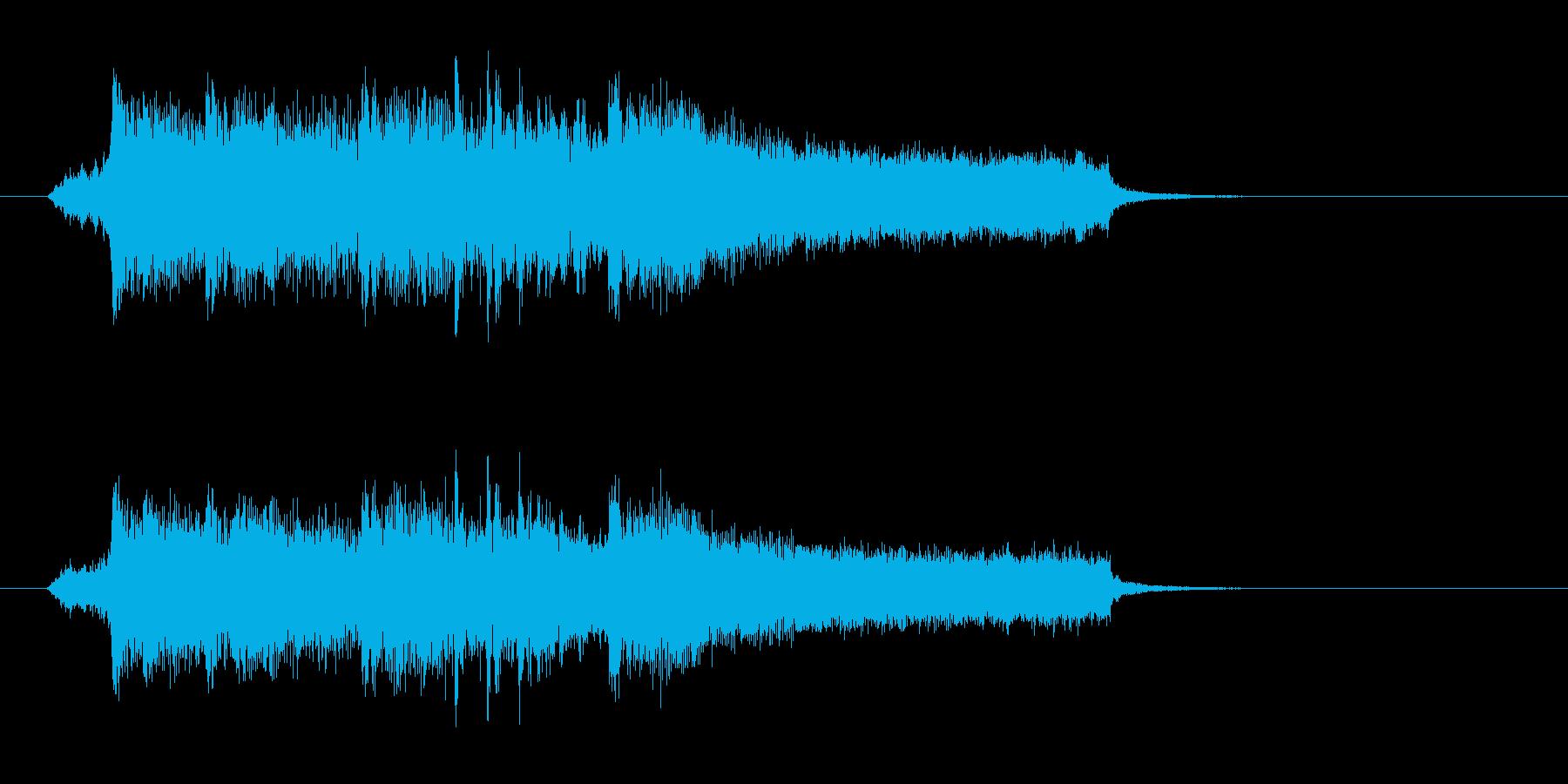 ストリングス・シンセの爽やかポップスの再生済みの波形