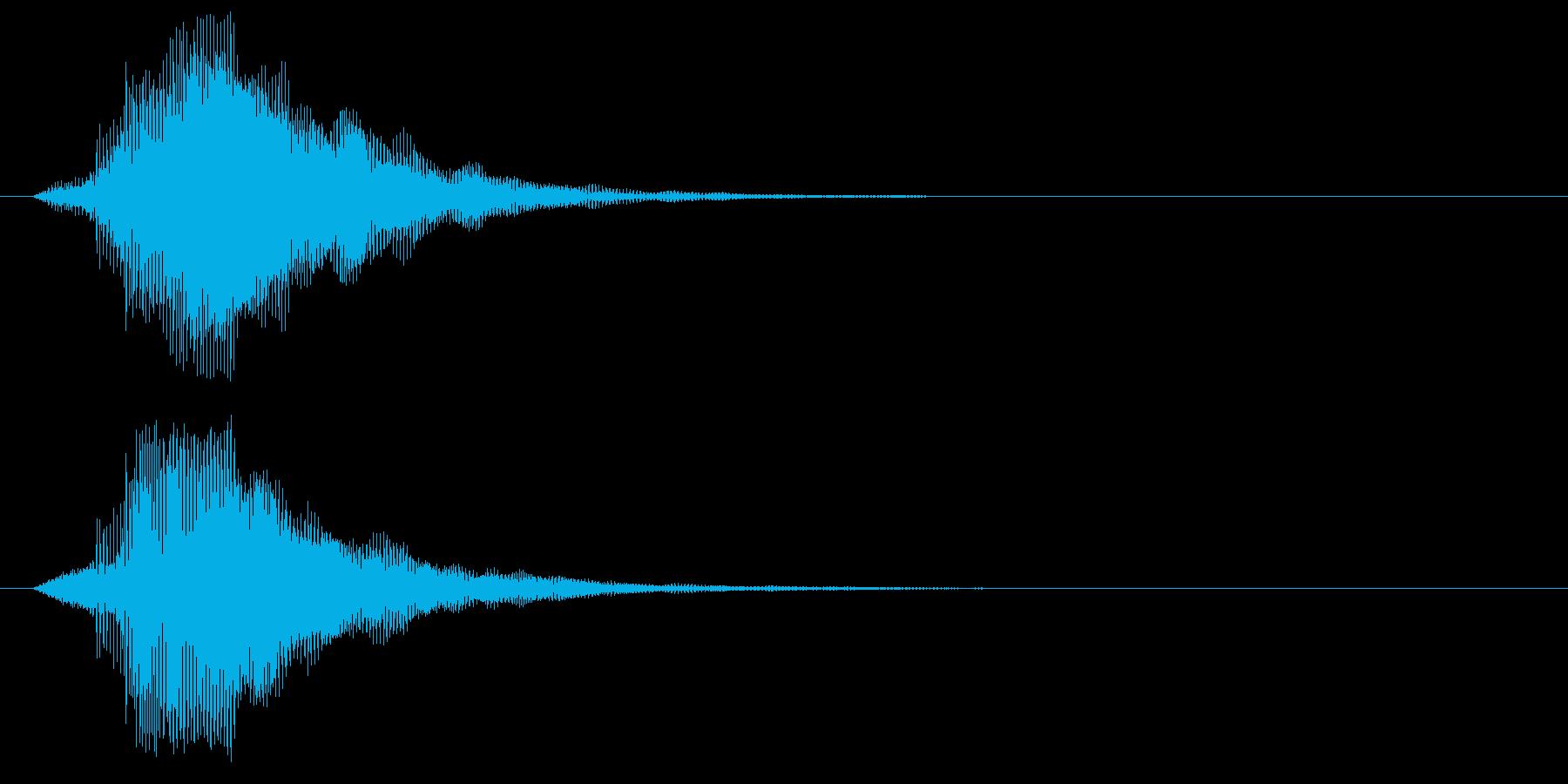 ピ!8bit系の決定/ボタン/クリック3の再生済みの波形