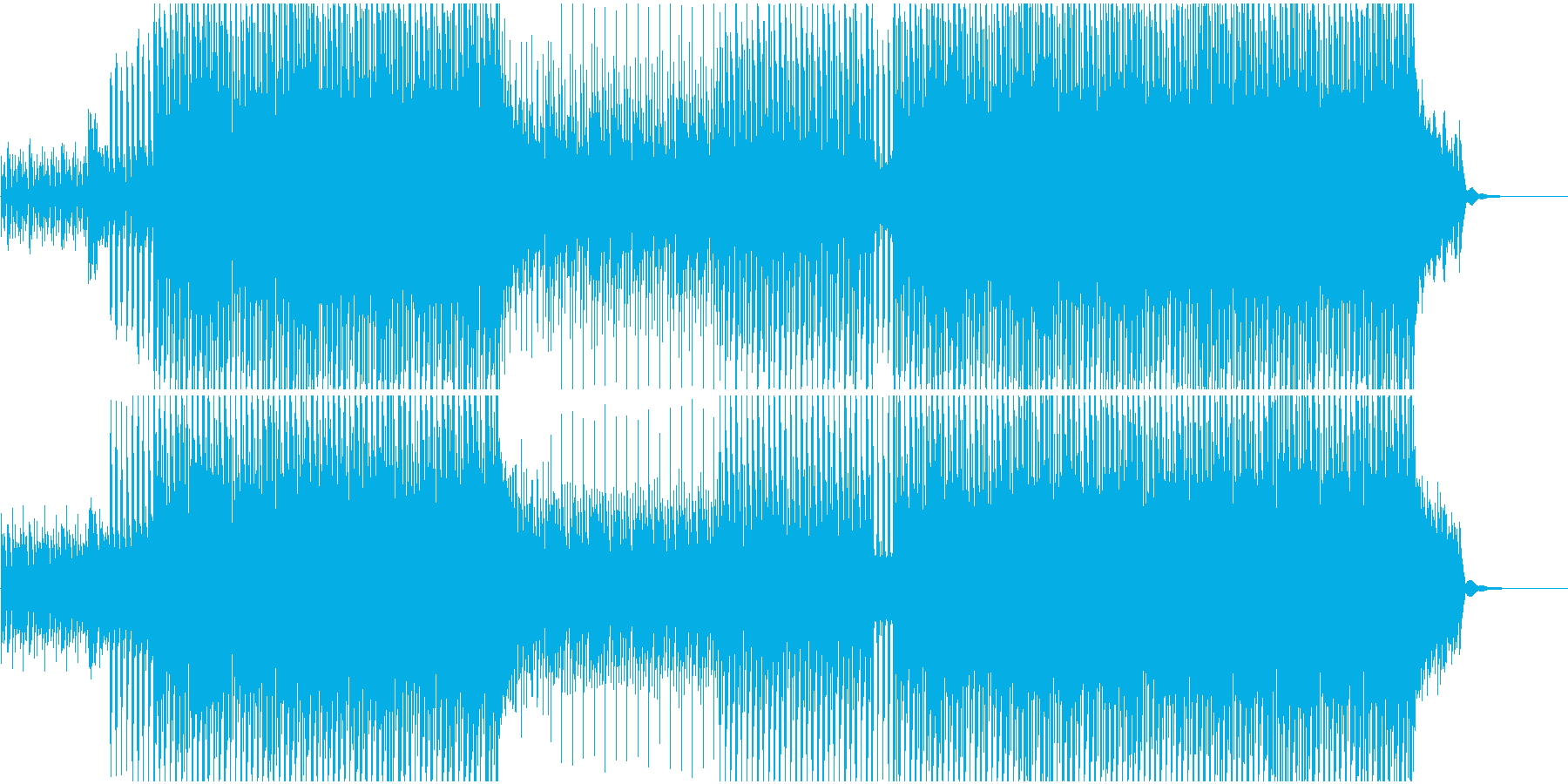 CMや映像に ピアノ爽やかオープニング系の再生済みの波形