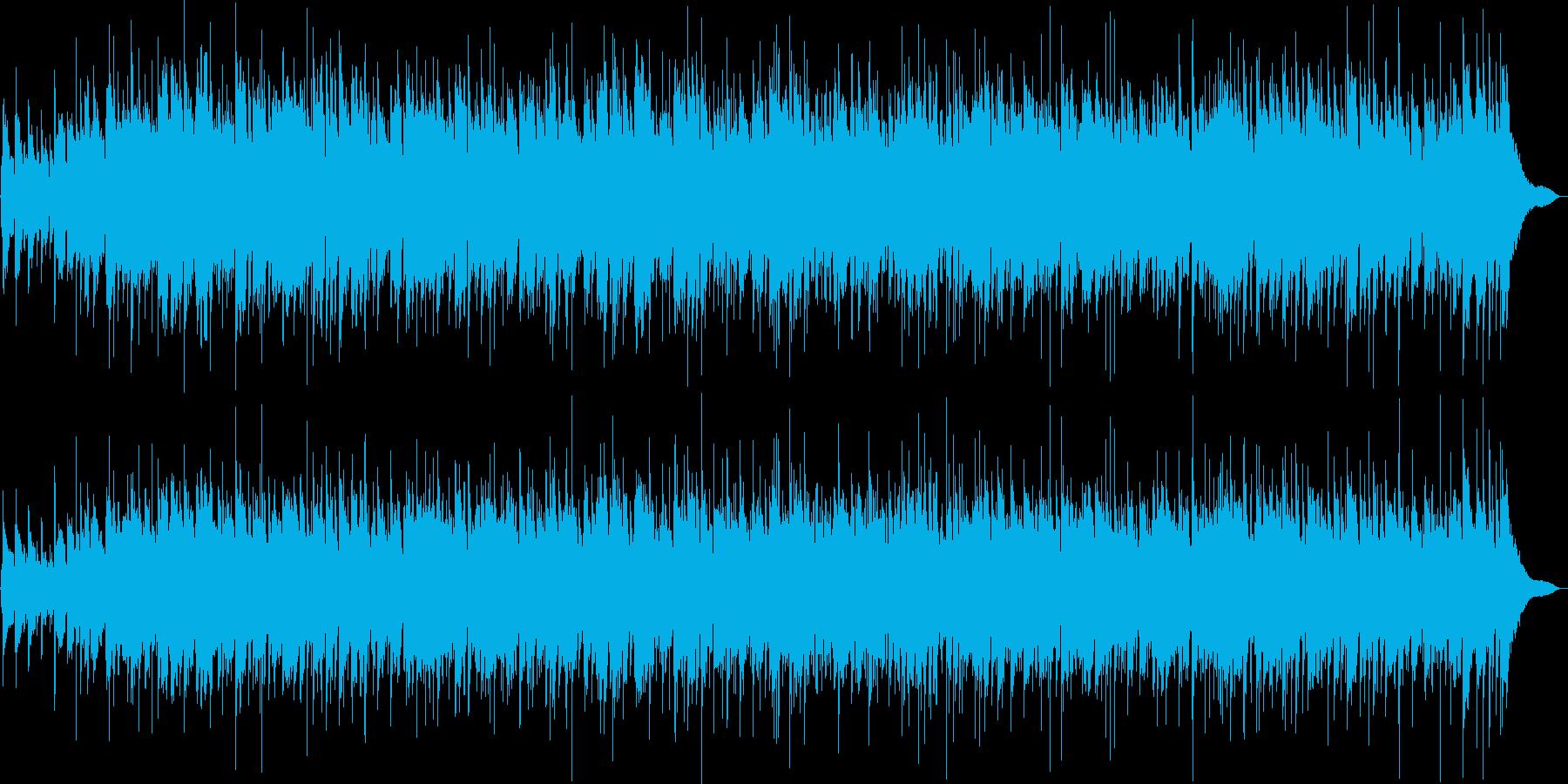リラックスできるイージーリスニングの再生済みの波形