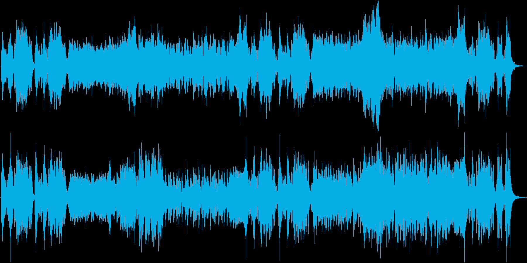 エレルギッシュで颯爽としたオーケストラの再生済みの波形