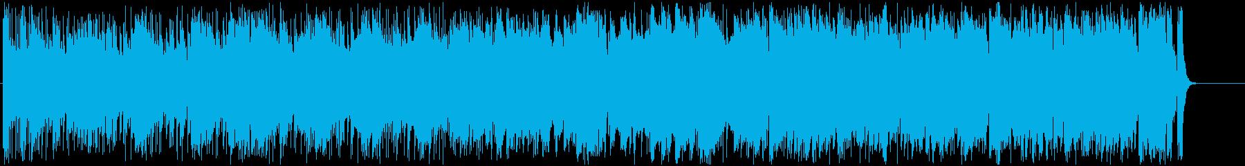 ダイナミックでどこか懐かしいメロディの再生済みの波形