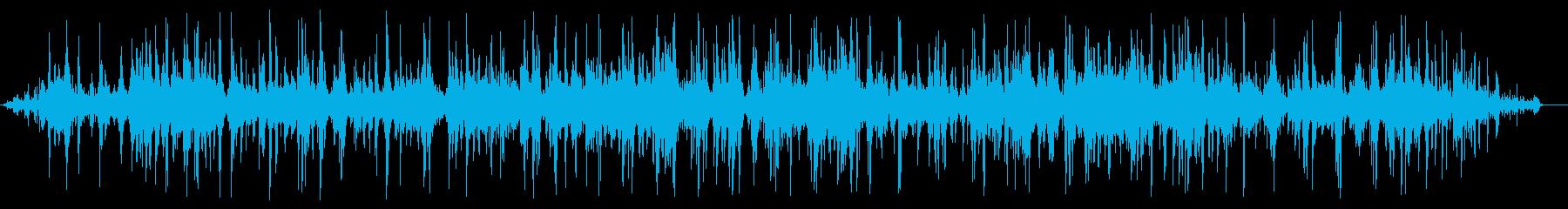 ドポドポドポ(水の音)の再生済みの波形