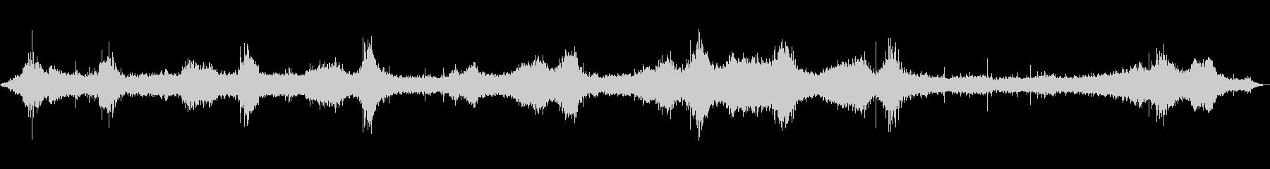 【自然音】波の音01(八丈島)の未再生の波形