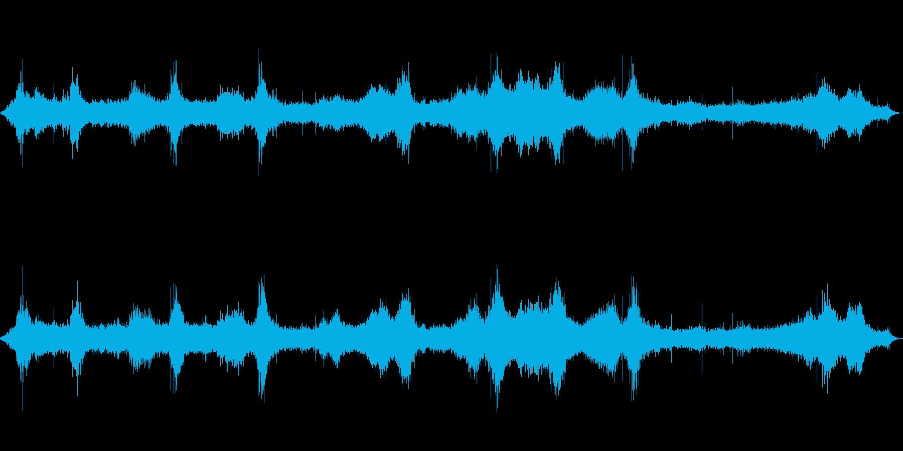 【自然音】波の音01(八丈島)の再生済みの波形