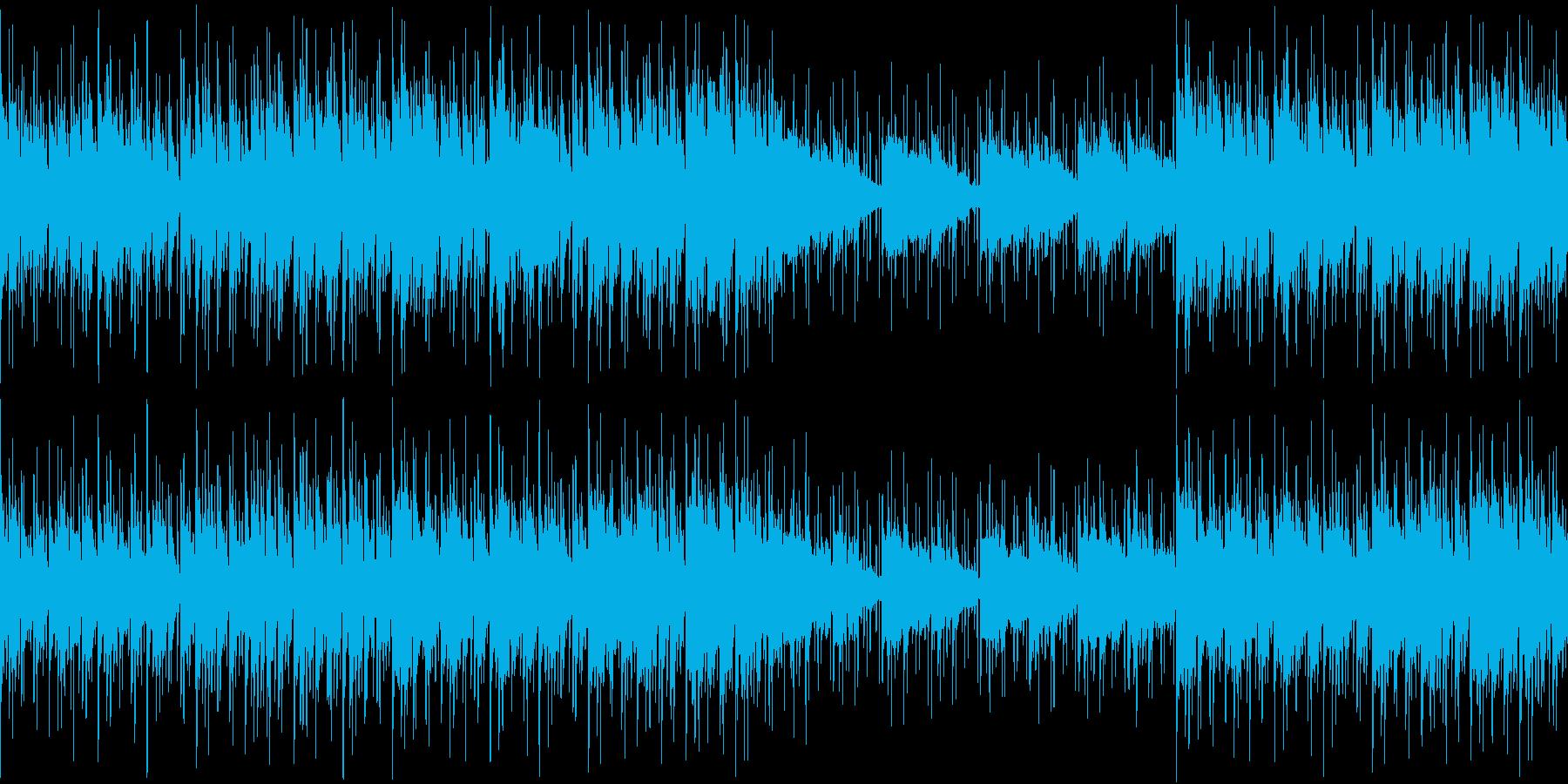 ラウンジ ボサノバ ゆっくり癒し ループの再生済みの波形