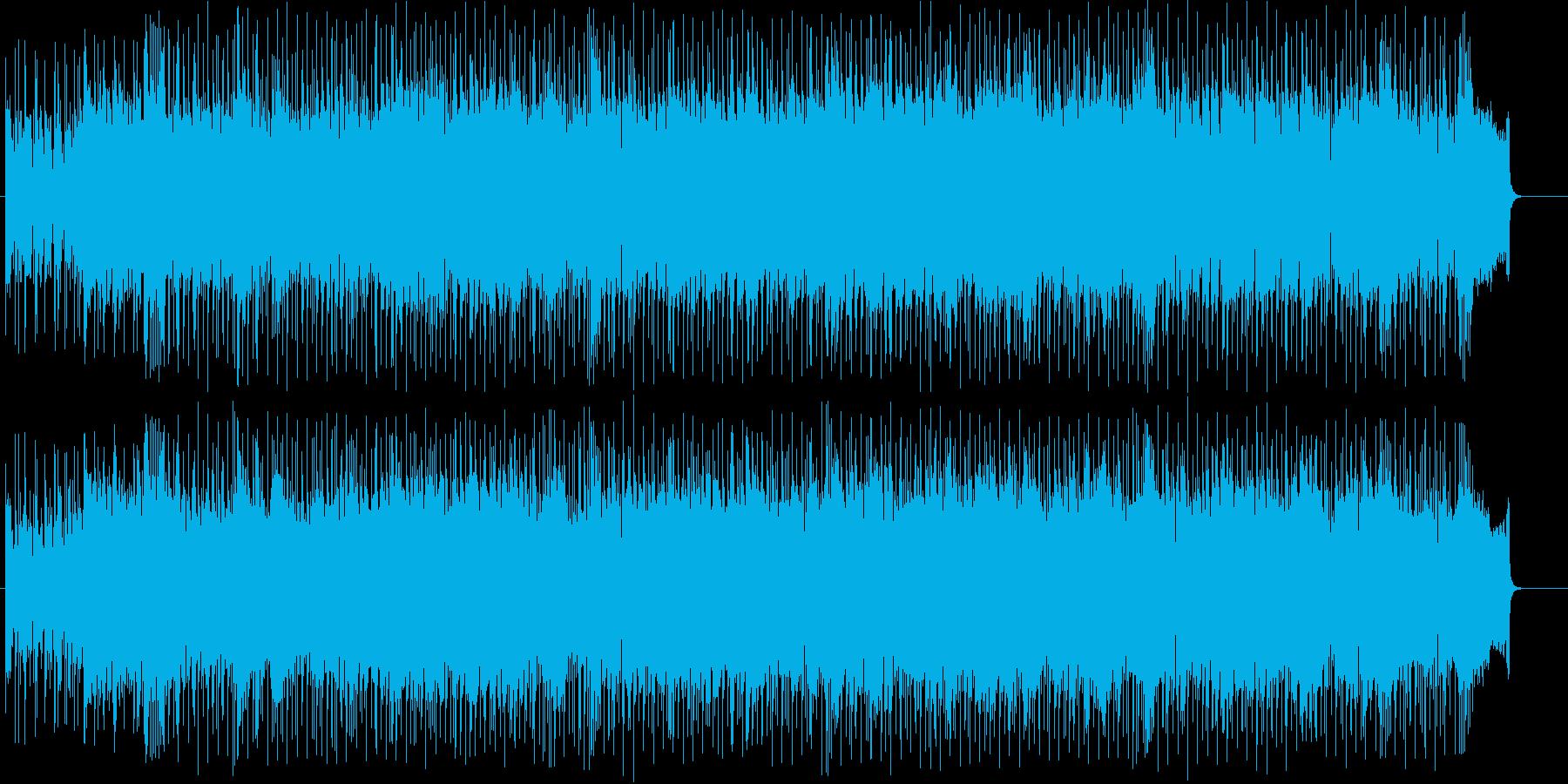 心和むチュルドレン・ミュージック風の再生済みの波形