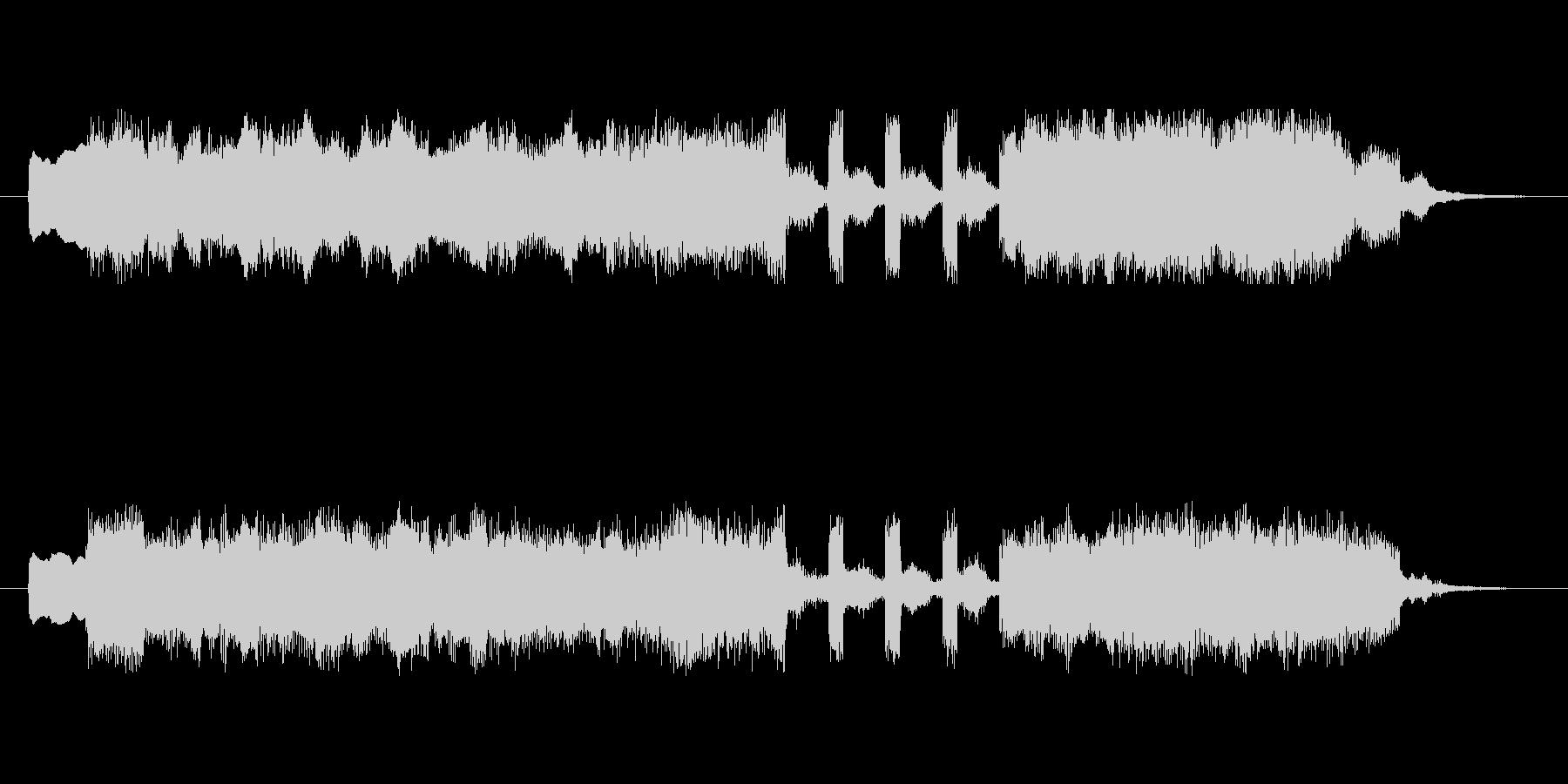 アイネクライネナハトムジーク第3楽章ミニの未再生の波形
