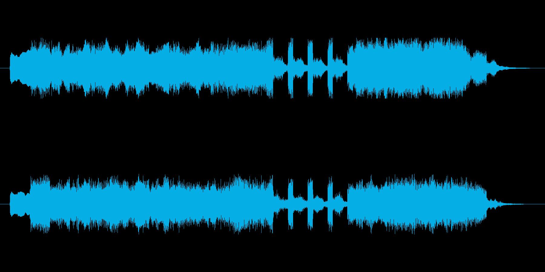 アイネクライネナハトムジーク第3楽章ミニの再生済みの波形