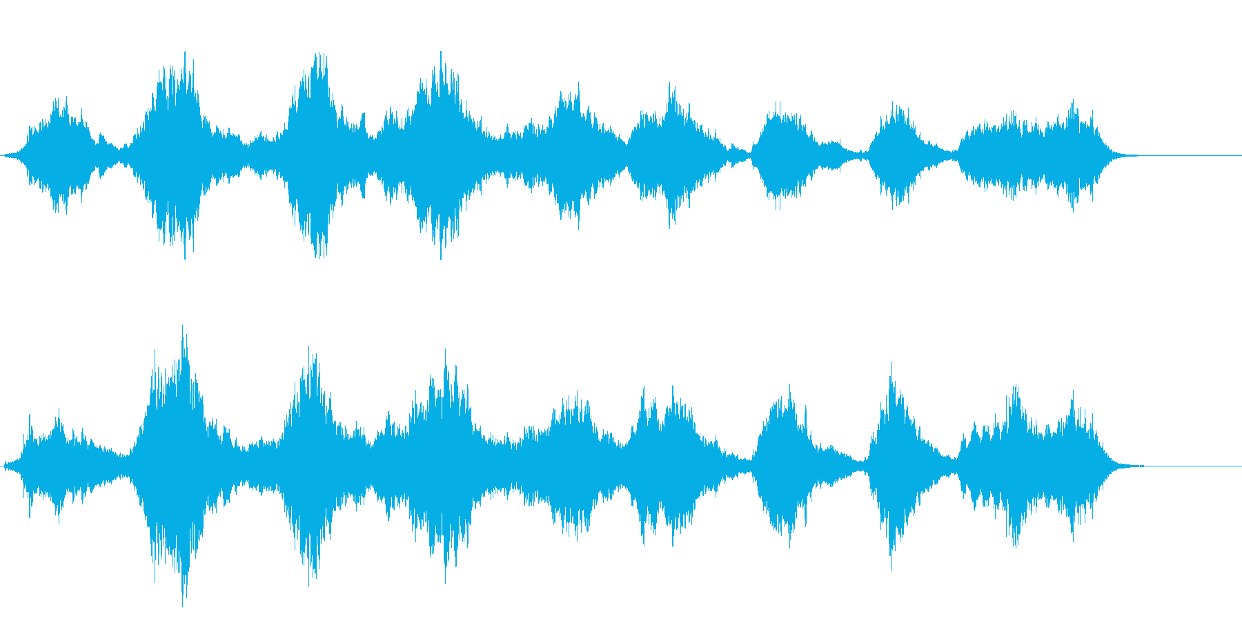 神秘 よあけ 浮遊 安らか 科学 自然の再生済みの波形