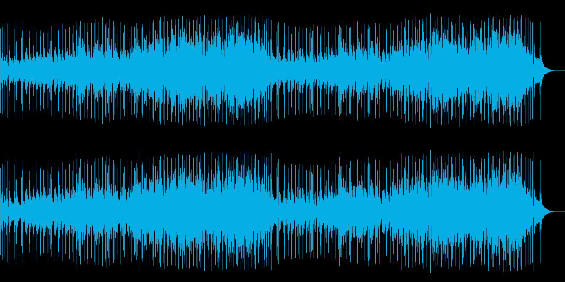 ちょっと感傷的なバラード/ポップの再生済みの波形