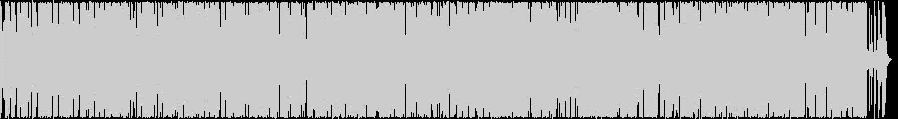 軽やかなブルース調のギターサウンドの未再生の波形