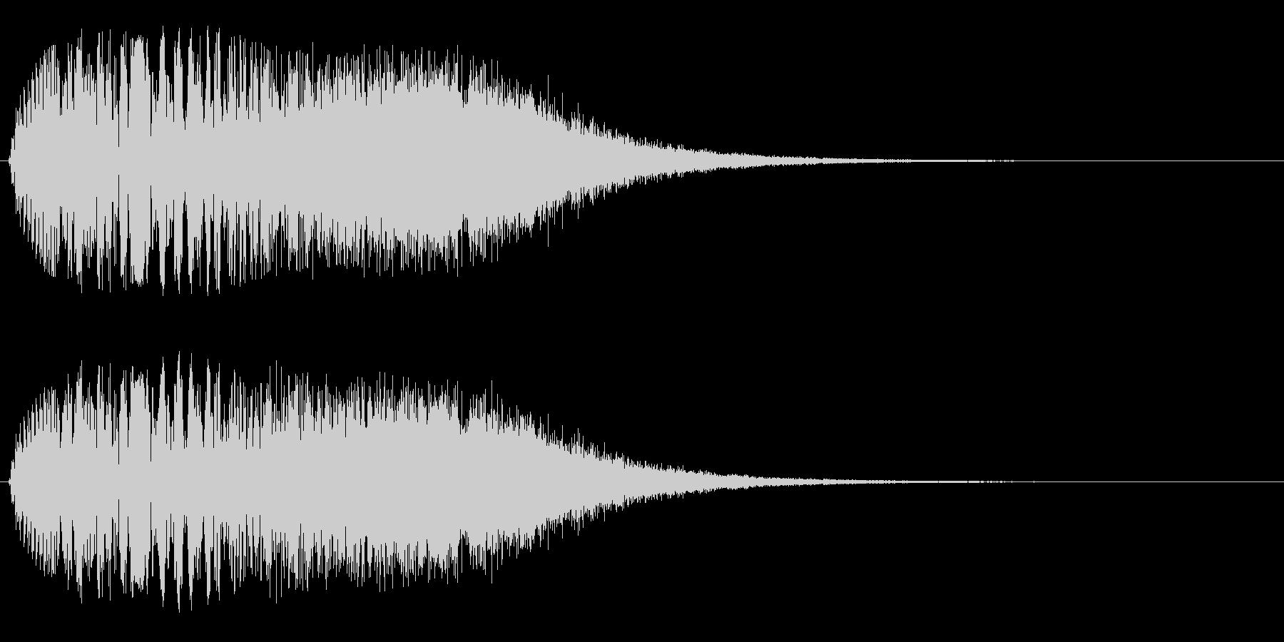 ジャララーン(豪華)の未再生の波形