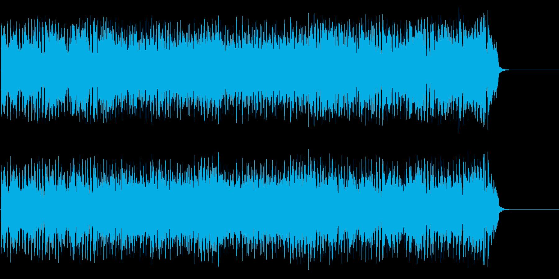 元気一杯で軽快なポップス(イントロ~…)の再生済みの波形