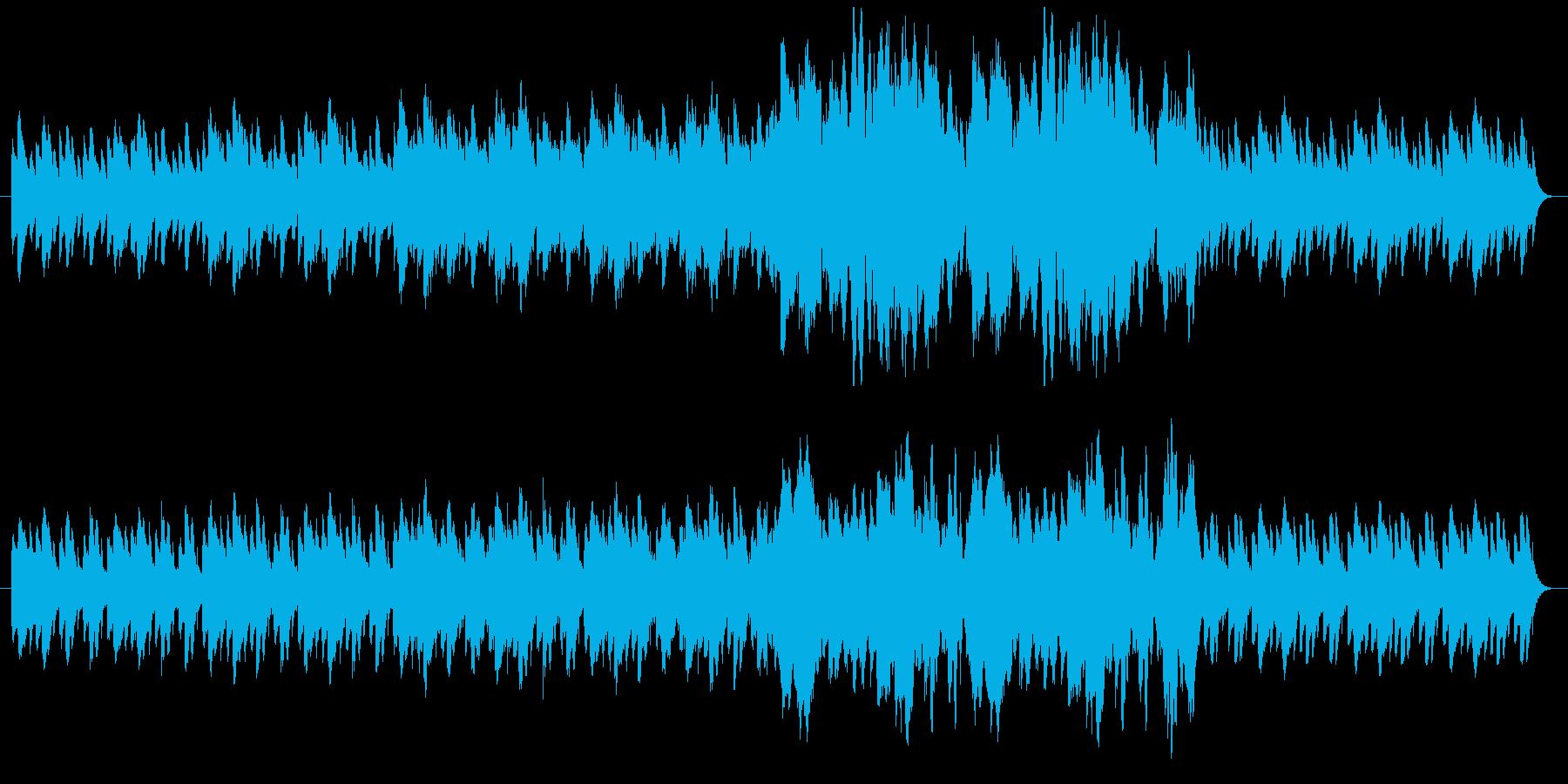 ドキドキしているシーンをピアノで表現の再生済みの波形