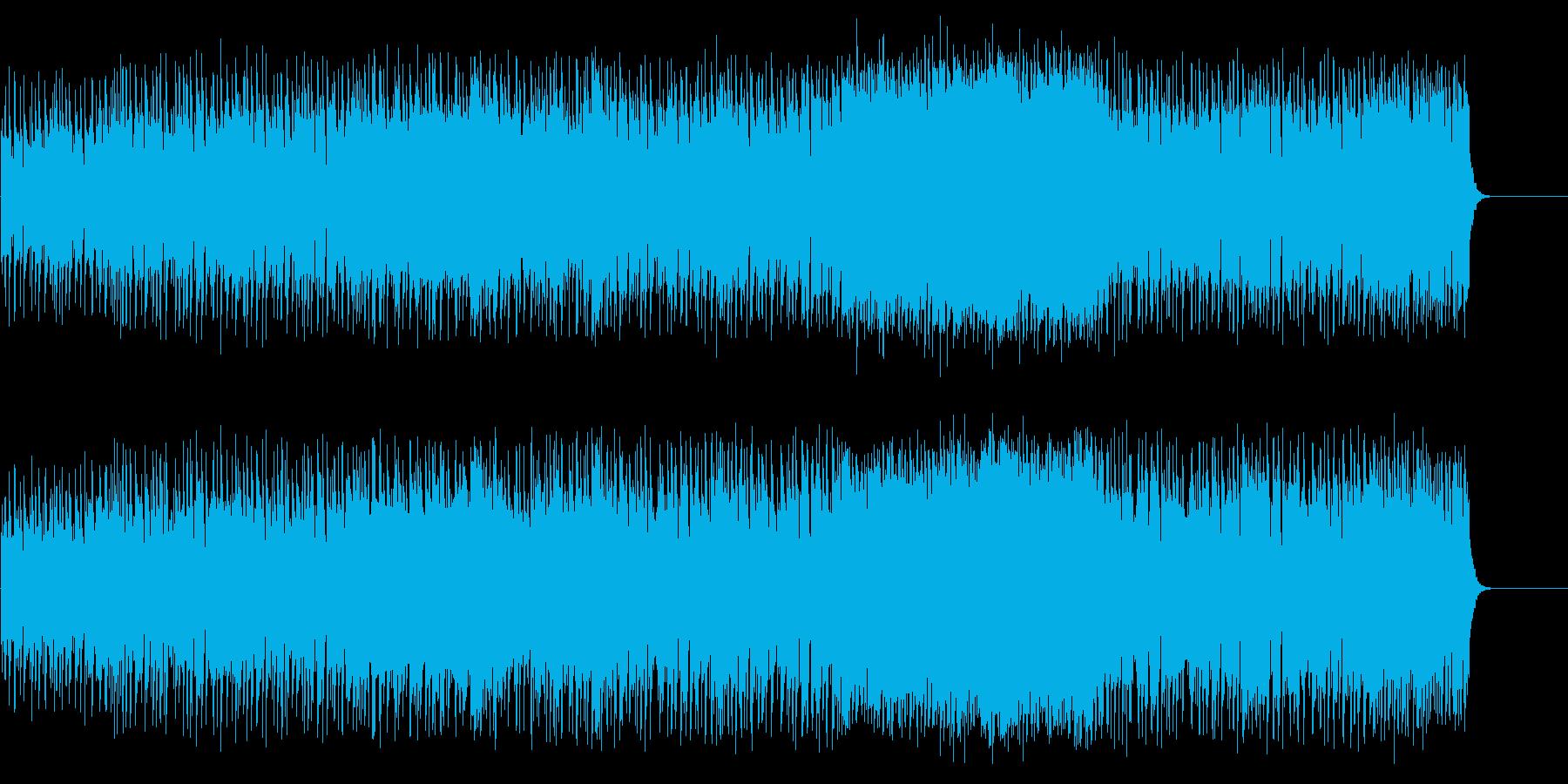 若いハートのスピーディーなマイナーロックの再生済みの波形