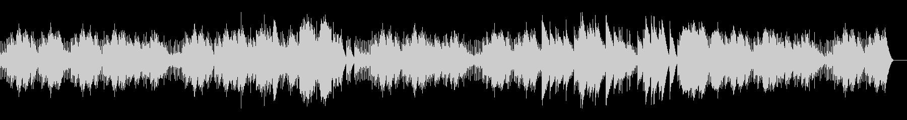 エリーゼのために フル尺 (オルゴール)の未再生の波形