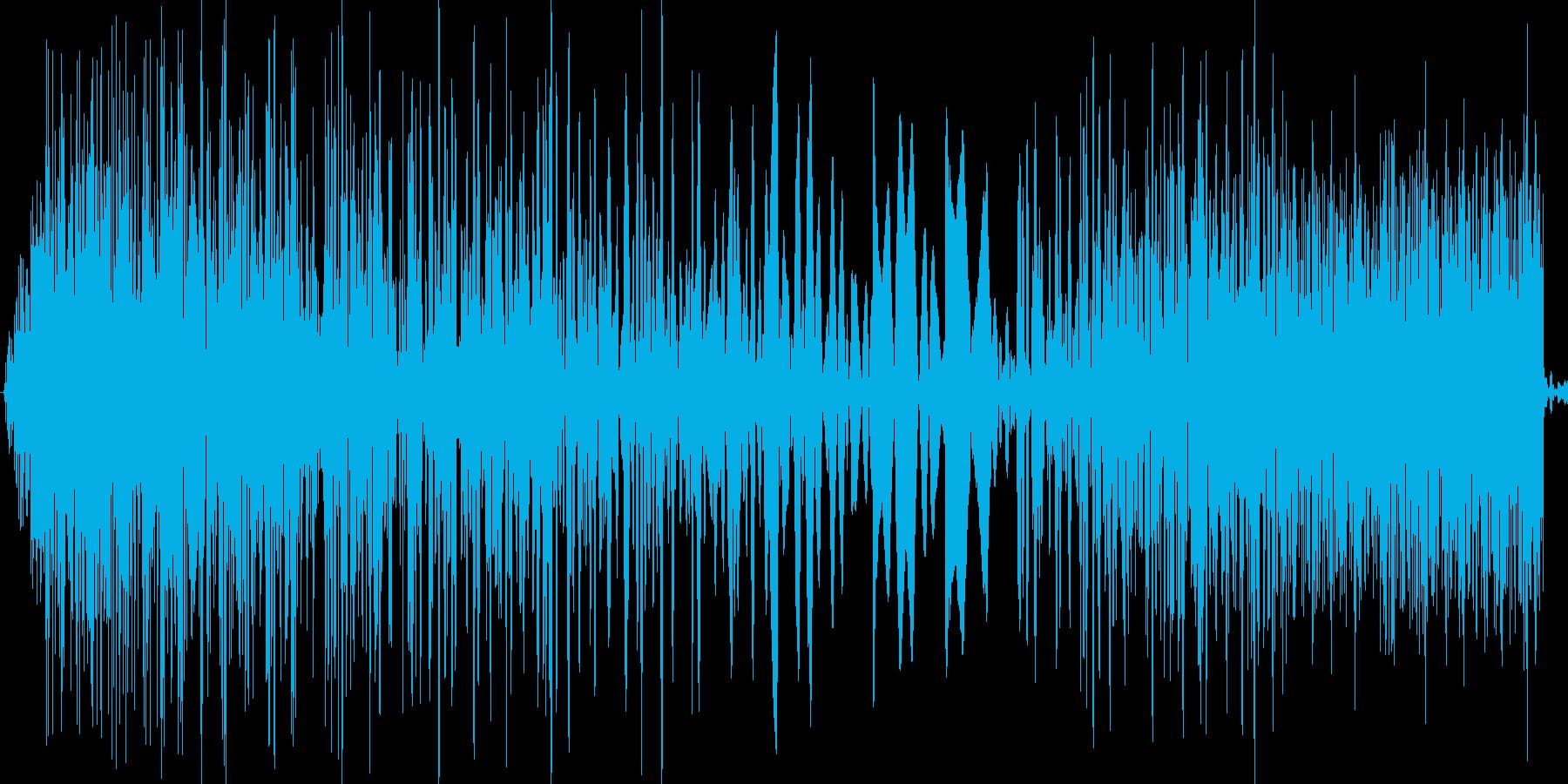 【ズバッ】8bit系の斬撃/攻撃音の再生済みの波形