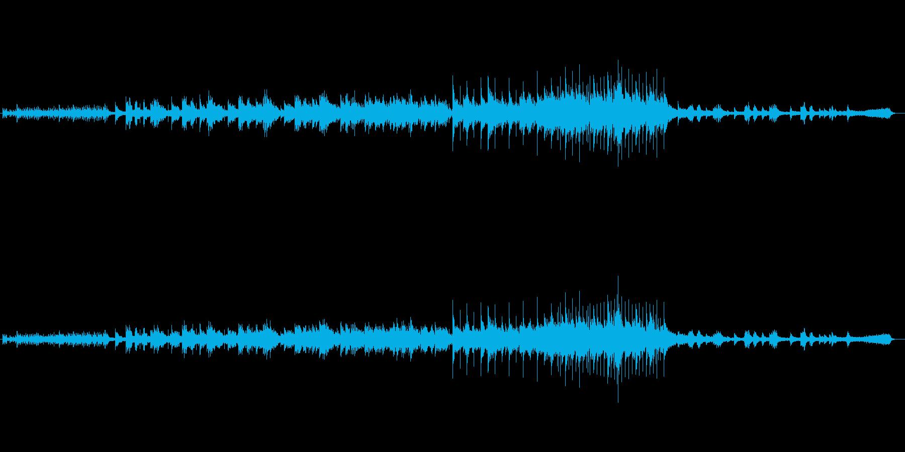 心にしみるピアノ・バラードの再生済みの波形