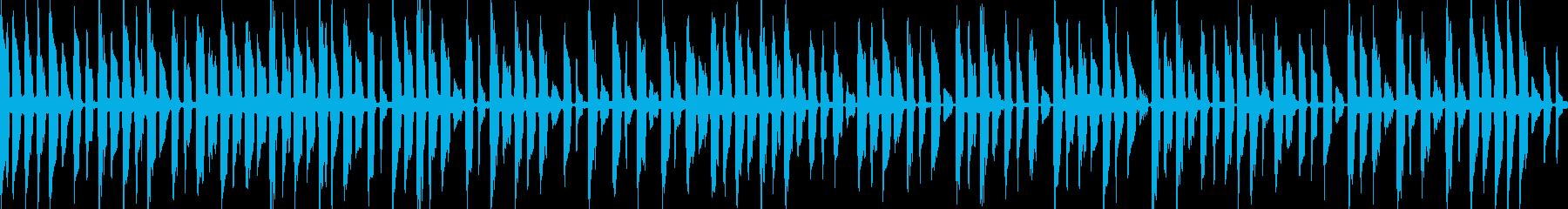 楽しく遊ぶ子供用モノ作り曲 30秒の再生済みの波形