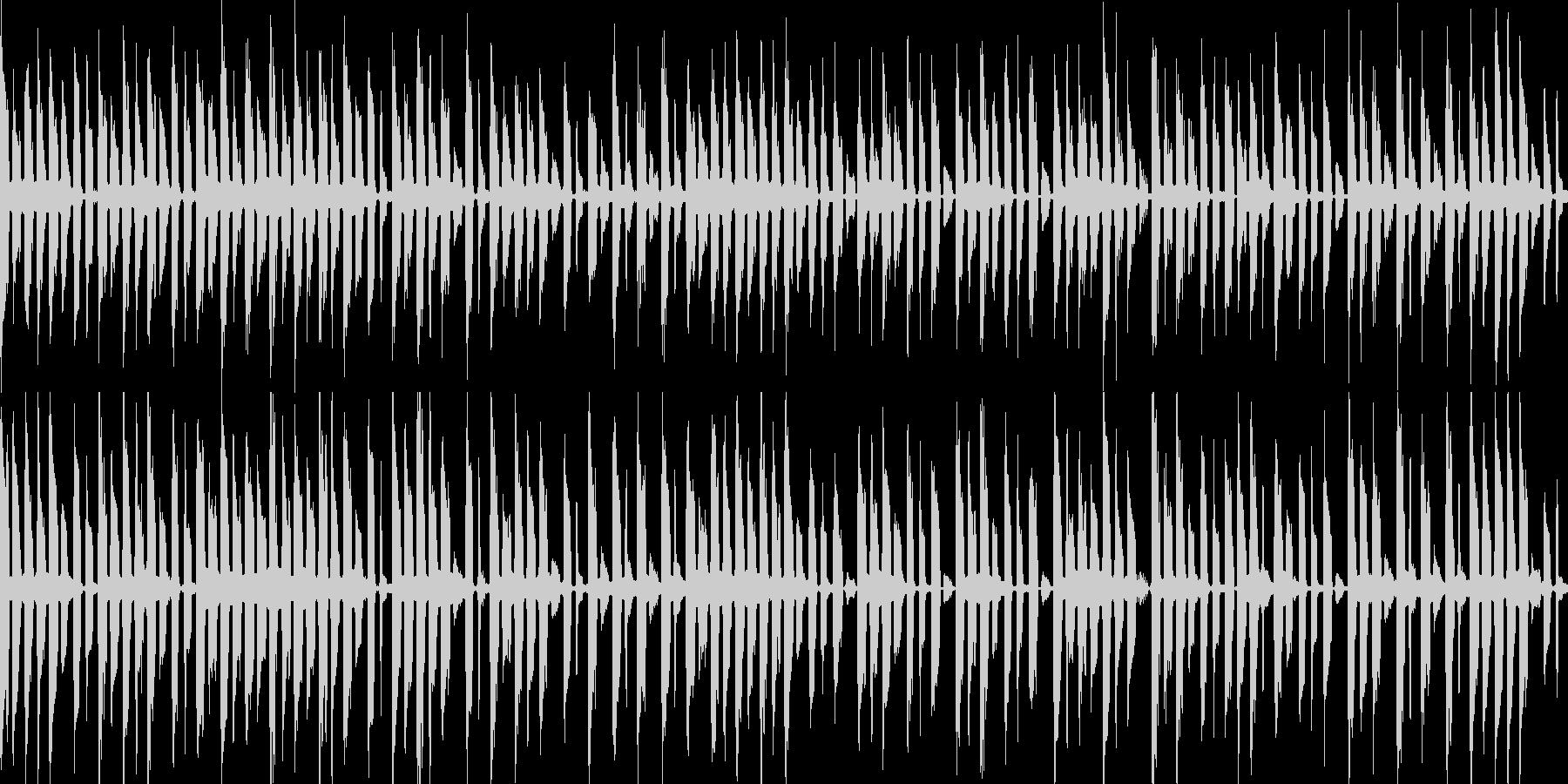 楽しく遊ぶ子供用モノ作り曲 30秒の未再生の波形