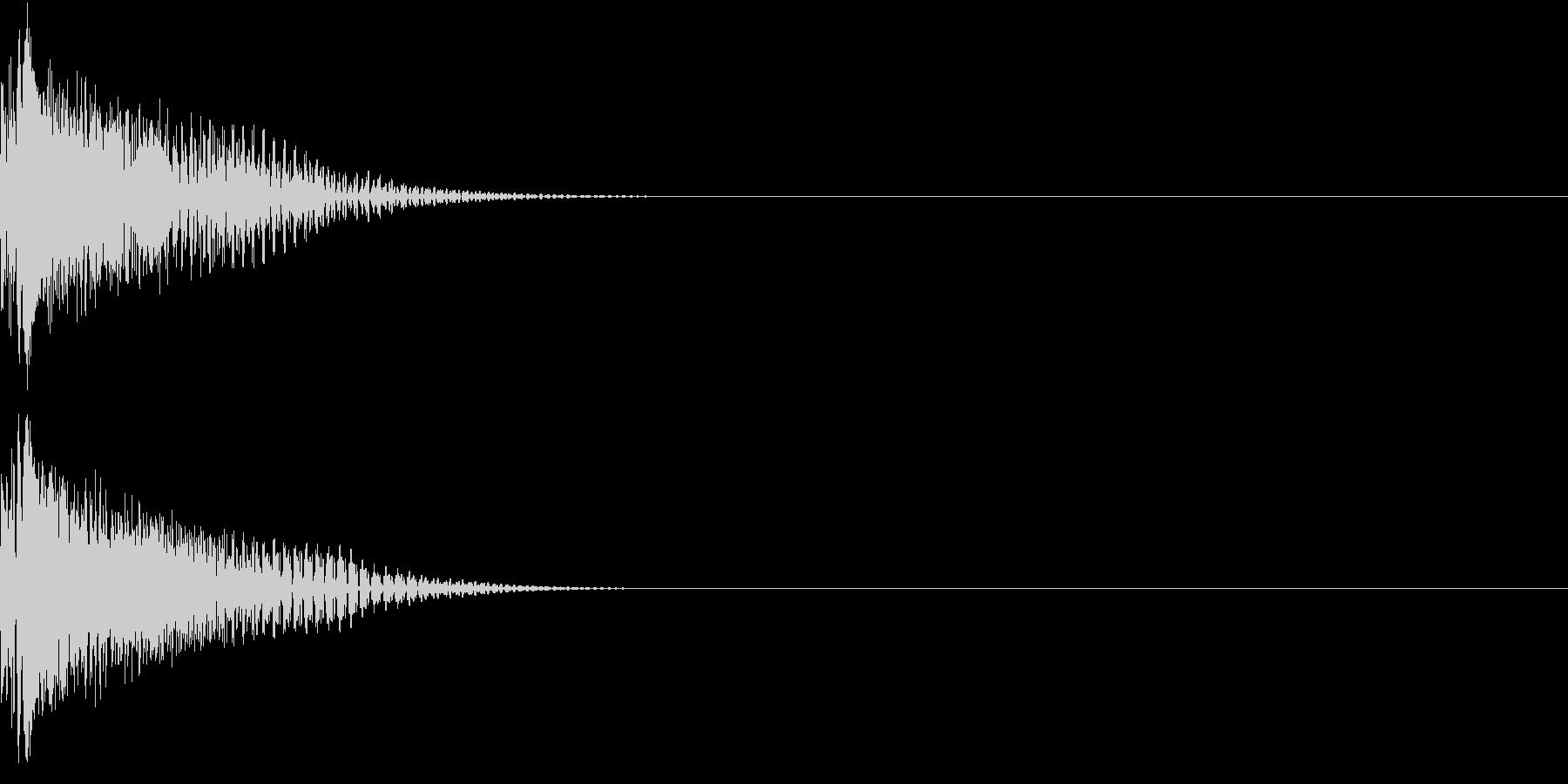 Weapon ビーム小銃 レーザーガンの未再生の波形